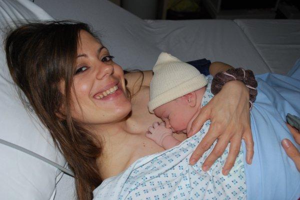 Notre bébé est né