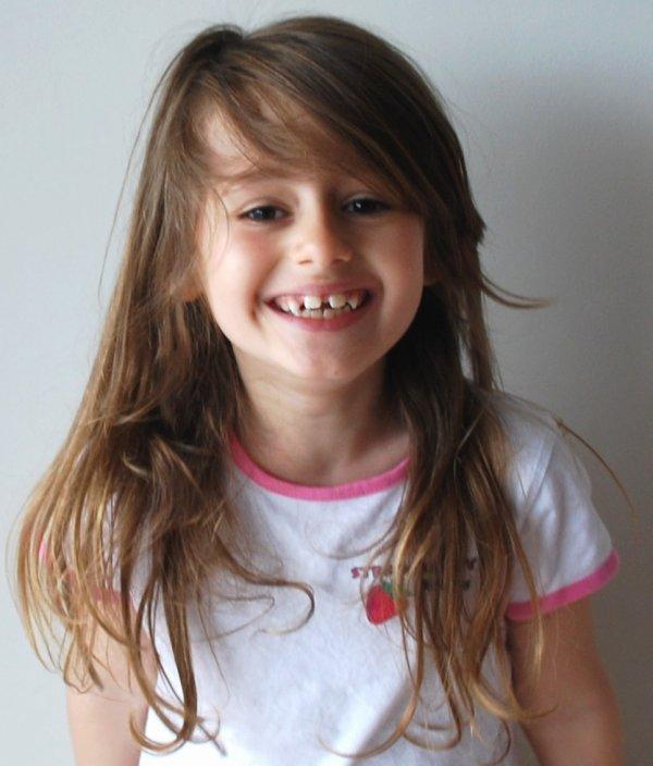 Alyssa est heureuse de vous annoncer qu'elle passe au CP !!! hihi