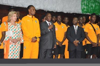 Finale CAN 2012 : Guillaume Soro : « Je pense que ce serait une belle occasion, une belle opportunité pour la Côte d'Ivoire de faire sa réconciliation. »