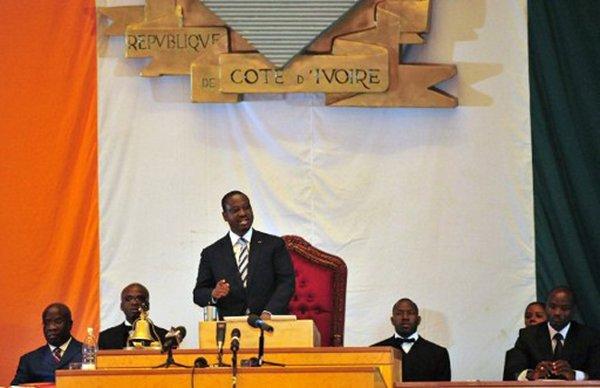 Discours du Président de l'Assemblée Nationale à la Session inaugurale du 12 mars 2012