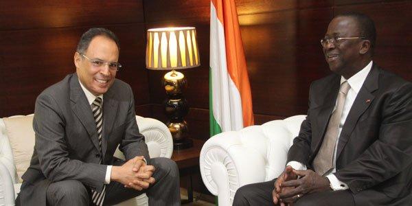 Relations bilatérales : L'ambassadeur du Maroc chez le Premier ministre Ahoussou