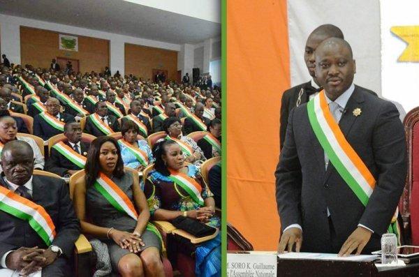 Clôture de la 1ère session ordinaire 2012 - Allocution de Monsieur Guillaume Kigbafori SORO, Président de l'Assemblée nationale