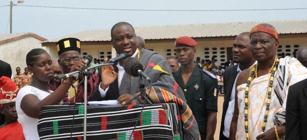 « Ce n'est pas en bandant les muscles qu'on va construire la Côte d'Ivoire » (Guillaume Soro)