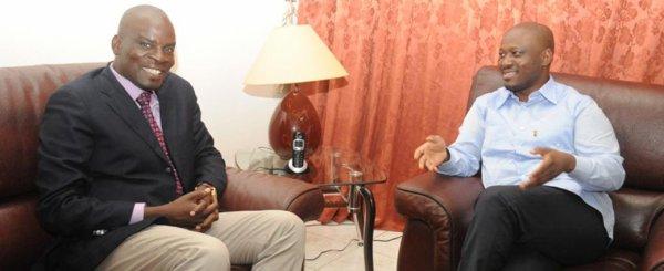 Guillaume Kigbafori Soro reçoit le ministre ghanéen des Communications