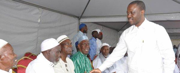 Fête du Ramadan : «Vaquez à vos occupations ! Bonne fête à tous! Vive la Côte d'Ivoire ! » (PAN Guillaume Soro aux ivoiriens)