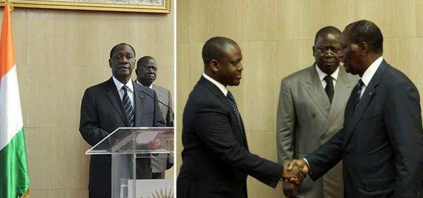 Accueil du Chef de l'Etat : Le Président de l'Assemblée nationale, présent à l'Aéroport