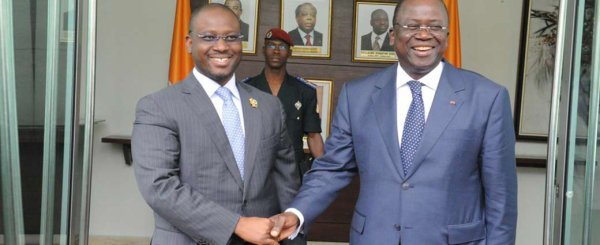 Activités du PAN : Guillaume Soro chez le Premier Ministre Jeannot Kouadio-Ahoussou