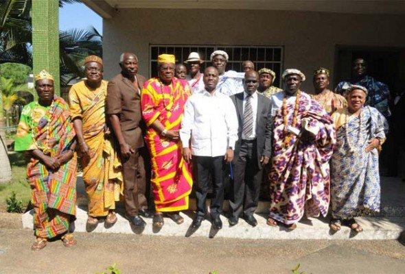Visite prochaine du PAN à Dabou : Le Bureau du Collectif des Chefs du Leboutou chez Guillaume Soro