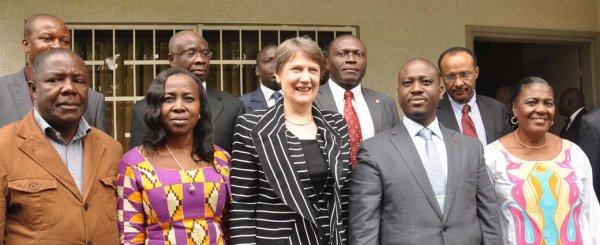 Helen CLARK prête à soutenir le PAN Guillaume Soro dans la réforme du Parlement ivoirien