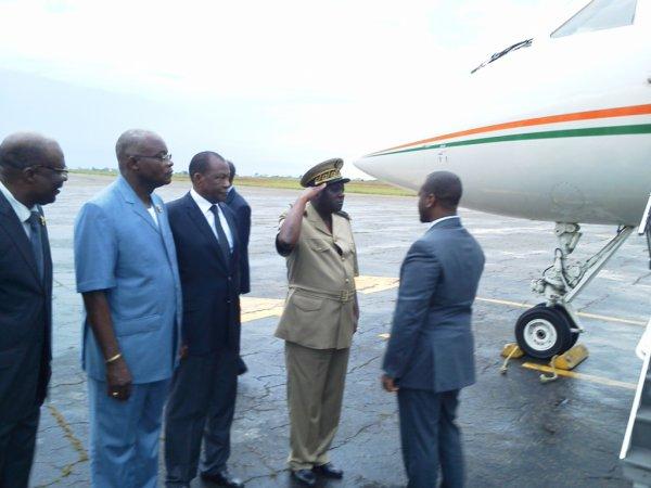 2ème Session ordinaire de l'Assemblée nationale : Le PAN Guillaume Kigbafori Soro est arrivé à Yamoussoukro.