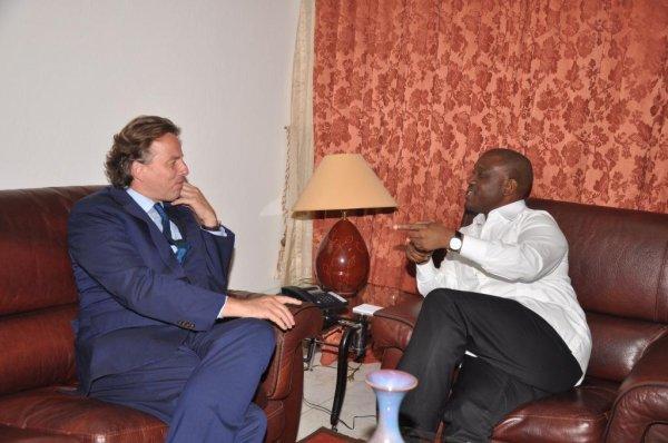 Audience du PAN : Le  Représentant du Secrétaire général de l'ONU en Côte d'Ivoire apporte son soutien à l'Assemblée nationale