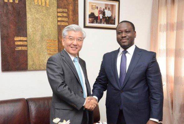 Audiences du PAN: L'ambassadeur de Corée satisfait de la mission du PAN Guillaume Soro dans son pays