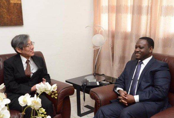 Audiences du PAN : L'ambassadeur du Japon salue la coopération ivoiro-japonaise