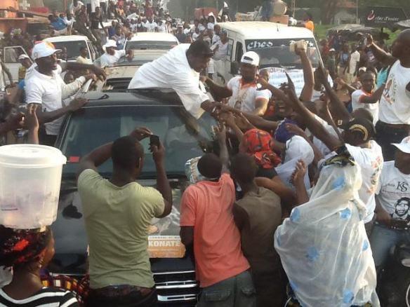 Il faut saluer l'acte citoyen et démocratique du candidat Konaté Sidiki à Man