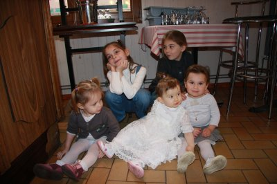 Mon bébé et ses 4 cousines