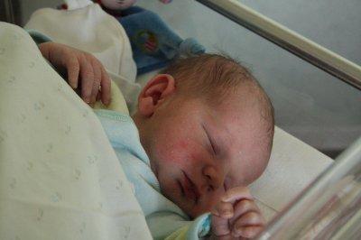 Mon fils le jour de sa naissance