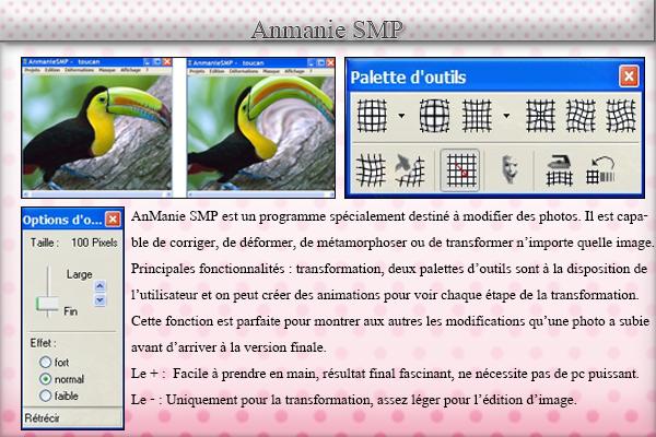 Anmanie SMP pour trucages