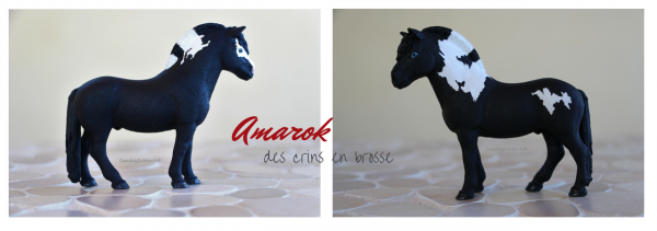 Amarok des crins en brosse