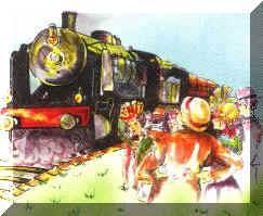 t.v.t.37 richelieu train a vapeur touristique