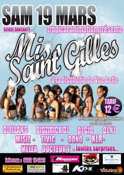Election Miss Saint-Gilles