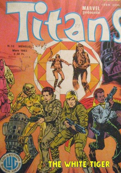 Lot de 21 Titans genre Strange