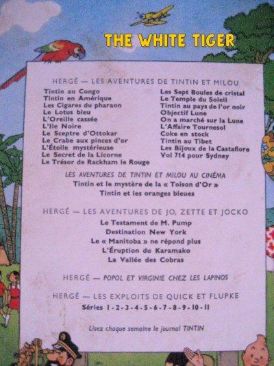 """Hergé: Jo, Zette et Jocko """"Le testament de M. PUmp"""""""