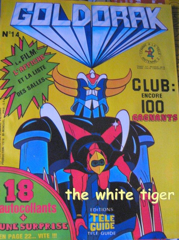 Goldorak Télé Guide 14 Poster de Goldorak au cinéma