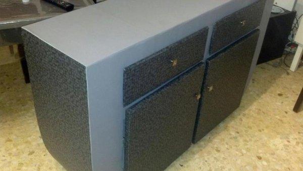 Mes meubles en cartons...