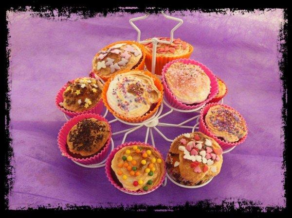 Cupcakes chocolat nougatine