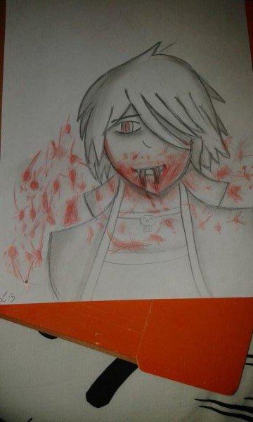#Dessin 2  : Vampire