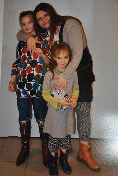 moi et mes deux filles d amours..