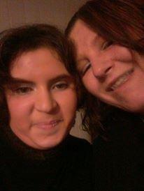 mo et ma petite soeure de coeure adoree..