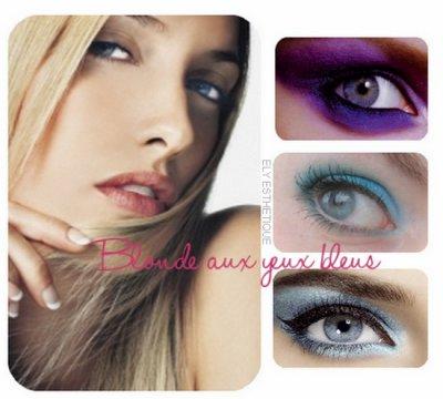 make up article la demande maquillage pour les blondes aux yeux b. Black Bedroom Furniture Sets. Home Design Ideas