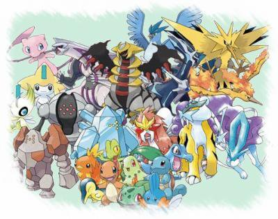 Pokemon legendaire blog de sacha pokemon trash - Image pokemon legendaire ...