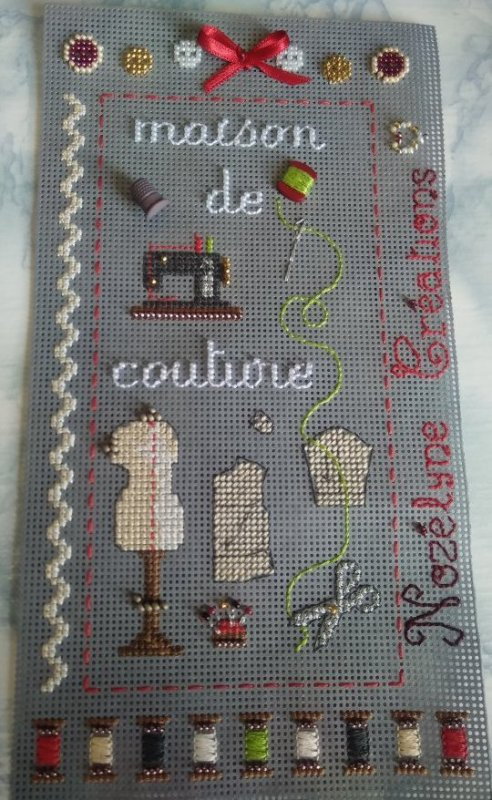 Broderie couture