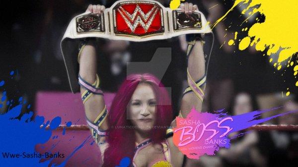 Sasha Banks nouvelle championne