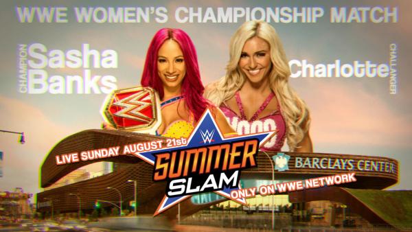 Sasha Banks vs Charlotte pour le titre