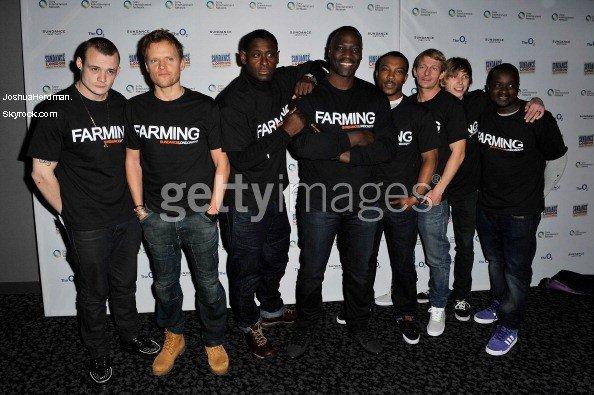 [Falsh Back] Sundance London - Farming photocall At Cineworld, The O2 (APRIL 27 / 2012)
