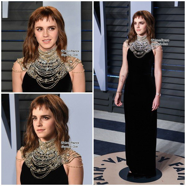 Emma aux Vanity Fair Oscars Party