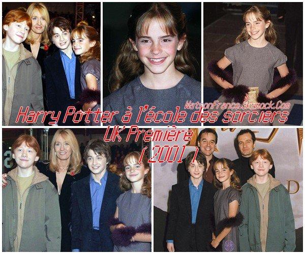 .....:::::: Flashback : Harry Potter à l'école des sorciers. Redécouvrez les conférences de presse ainsi que les avant-première du film qui se sont dérouler en 2001 ! ::::::.....