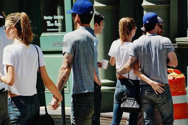 | Candids - 29.07 : Adam et Behati à la recherche d'un appartement à New York