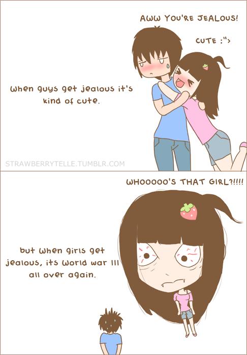 Moi jalouse ? Hahahahhaha, oui..