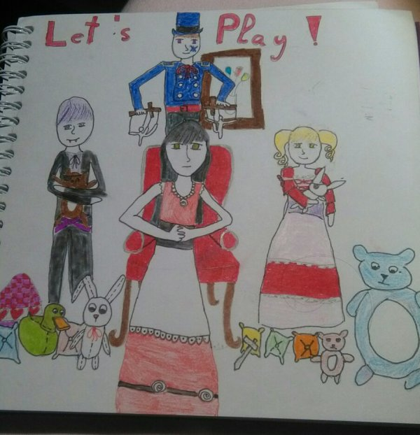 Dessin 1: Let's play ♥♠♣♦ !