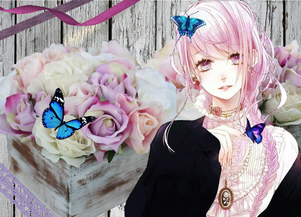 """""""Si même une petite fleur peut jouer le rôle d'une belle rose, Elle s'épanouira"""","""