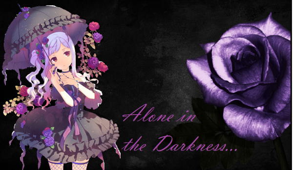 Darkness...