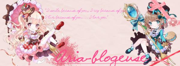 Commande Aria-blogeuse