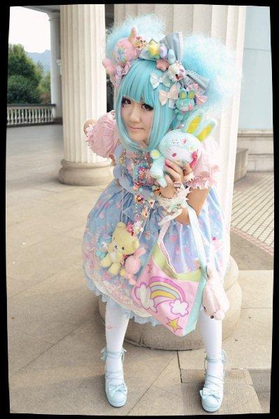 Le Look à la Japanese (Le Sweet Lolita)