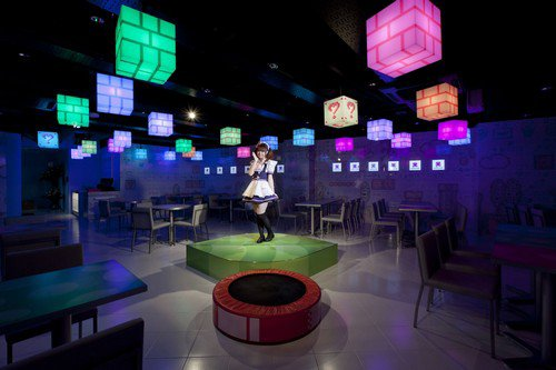 Maidreamin's Digitized cafe and Dinning Bar