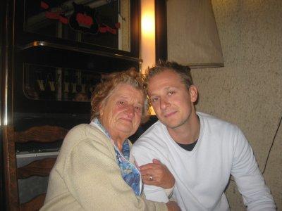 mamie et un de ses ptit fils