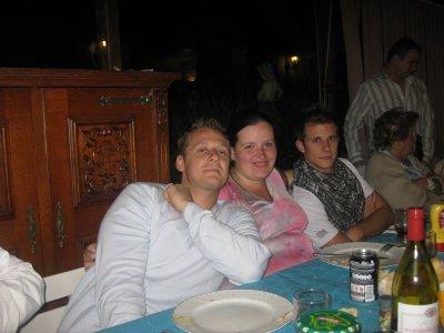 photo avec mes 2 cousins